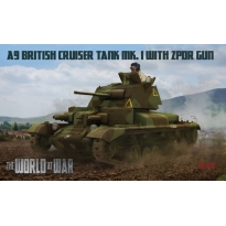 IBG WAW011 World At War A9 British Cruiser Tank Mk.I with 2pdr gun (1:72)