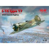 I-16 type 17, WWII Soviet Fighter (1:32)