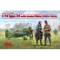 I-16 type 24 with Soviet Pilots (1939-1942) (1:32)