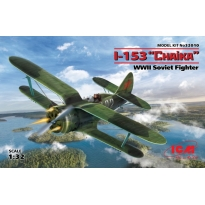 Polikarpov I-153 WWII Soviet Biplane Fighter (1:32)