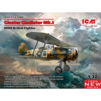 Gloster Gladiator Mk.I, WWII British Fighter (1:32)