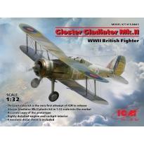 Gloster Gladiator Mk.II, WWII British Fighter (1:32)