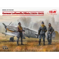German Luftwaffe Pilots (1939-1945) (3 figures) (1:32)