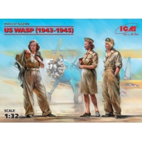 US WASP (1943-1945) (3 figures) (1:32)