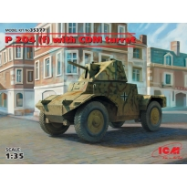 Panzerspähwagen P 204 (f) with CDM turret, WWII German Armoured Vehicle (1:35)