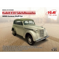 Kadett K38 Cabriolimousine, WWII German Staff Car (1:35)
