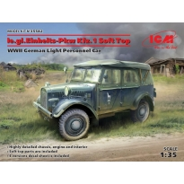 le.gl.Einheitz-Pkw Kfz.1 Soft Top, WWII German Light Personnel Car (1:35)