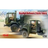 Soviet Drivers (1979-1991) (2 figures) (1:35)