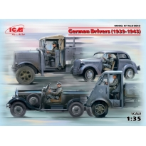 German Drivers (1939-1945) (4 figures) (1:35)