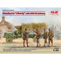 "Standard B ""Liberty"" with WWI US Infantry (1:35)"