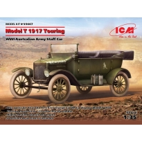 Model T 1917 Touring, WWI Australian Army Staff Car (1:35)