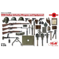 WWI Italian Infantry Weapon and Equipment (1:35)