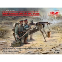 WWI German MG08 MG Team (2 figures) (1:35)