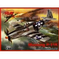 Mustang P-51K - WWII American Fighter (1:48)