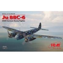 Ju 88С-6, WWII German Heavy Fighter (1:48)