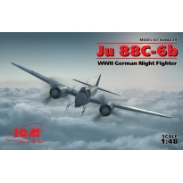 Ju 88С-6b, WWII German Night Fighter (1:48)