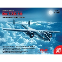 Do 17Z-10, WWII German Night Fighter (1:48)