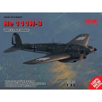 He 111H-3, WWII German Bomber (1:48)