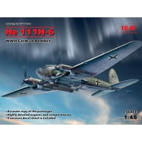 He 111H-6, WWII German Bomber (1:48)