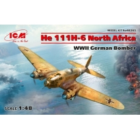 He 111H-6 North Africa, WWII German Bomber (1:48)