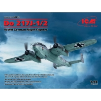Do 217J-1/2, WWII German Night Fighter (1:48)
