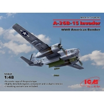 A-26B-15 Invader, WWII American Bomber (1:48)