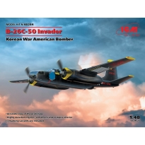 B-26С-50 Invader, Korean War American Bomber (1:48)