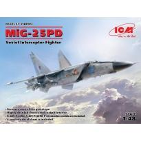 MiG-25 PD, Soviet Interceptor Fighter (1:48)