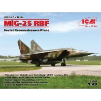 MiG-25 RBF, Soviet Reconnaissance Plane (1:48)
