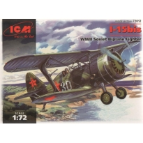 I-15bis WWII Soviet Biplane Fighter (1:72)