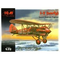 I-5 (early) Soviet Biplane Fighter (1:72)