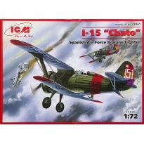 I-15 Chato Spanish Air Force Biplane Fighter (1:72)