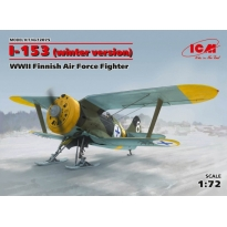 I-153, WWII Finnish Air Force Fighter (winter version) (1:72)