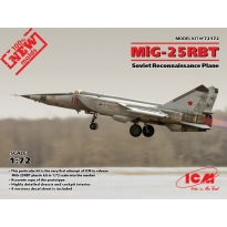 MiG-25 RBT, Soviet Reconnaissance Plane (1:72)