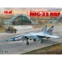 MiG-25 RBF, Soviet Reconnaissance Plane (1:72)