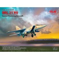 MiG-25 RU, Soviet Training Aircraft (1:72)