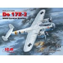 Do 17Z-2, WWII German Bomber (1:72)