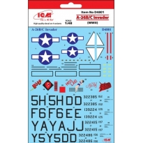 DECAL. A-26B/C  Invader (WWII) (1:48)