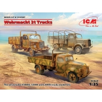 Wehrmacht 3t Trucks (V3000S, KHD S3000, L3000S) (1:35)