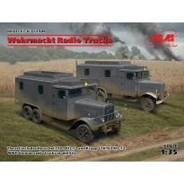 Wehrmacht Radio Trucks (Henschel 33D1 Kfz.72, Krupp L3H163 Kfz.72) (1:35)