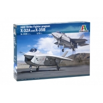 JSF program X-32A and X-35B (1:72)