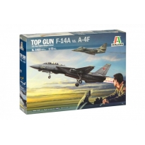 """Top Gun"" F-14A vs A-4F (1:72)"