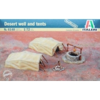 Desert well and tents (1:72)