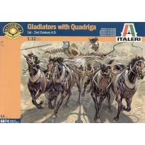 Gladiators with Quadriga (1:32)
