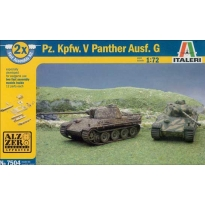 Pz.Kpfw.V Panther Ausf.G - Fast Assembly (1:72)