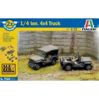 Willys Jeep 1/4 ton 4x4 - Fast Assembly (1:72)