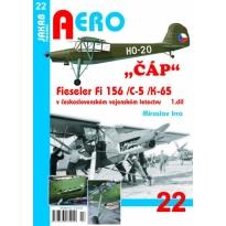 """Jakab Aero Fieseler """"Čáp"""" Fi 156/C-5/K-65 v československém vojenském letectvu 1.dil"""