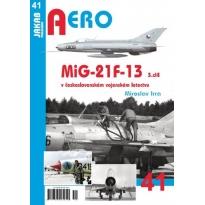 Jakab Aero MiG-21F-13  v československém vojenském letectvu 3.díl
