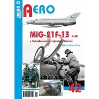Jakab Aero MiG-21F-13 v československém vojenském letectvu 4.díl