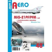 Jakab Aero MiG-21PF/PFM v československém vojenském letectvu 1.díl